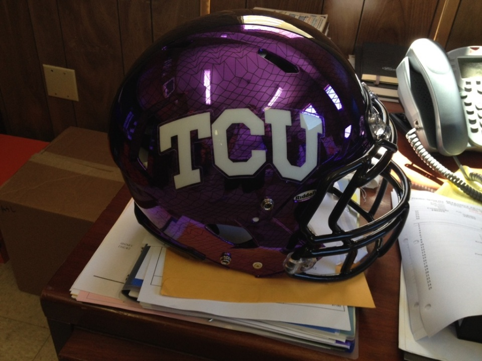 (Unconfirmed) New TCU helmet?
